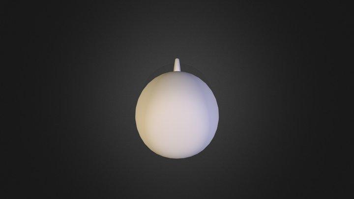 Barrage balloon 3D Model