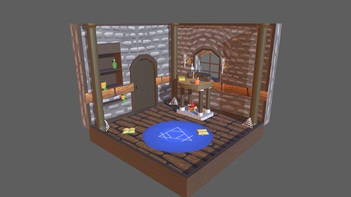 Aaron.R_Week3_Day5_Room 3D Model