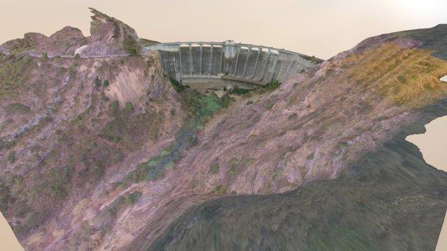 Presa de Escalona 3D Model