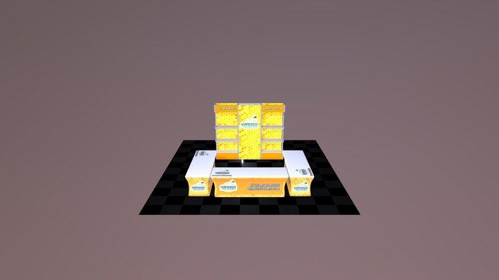 Whimsie Bee Indoor 3D Model