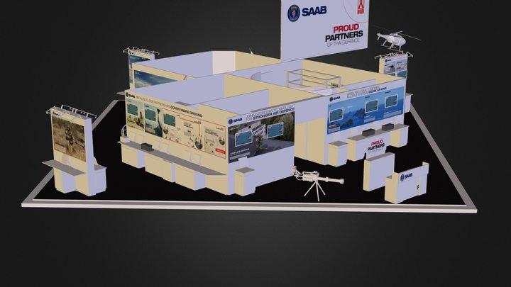 SAAB 3D Model