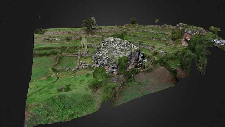 Chincana grande 3D Model