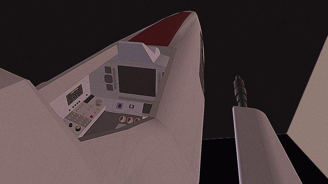 Viper MK II - Battlestar Galactica - WIP 2 3D Model