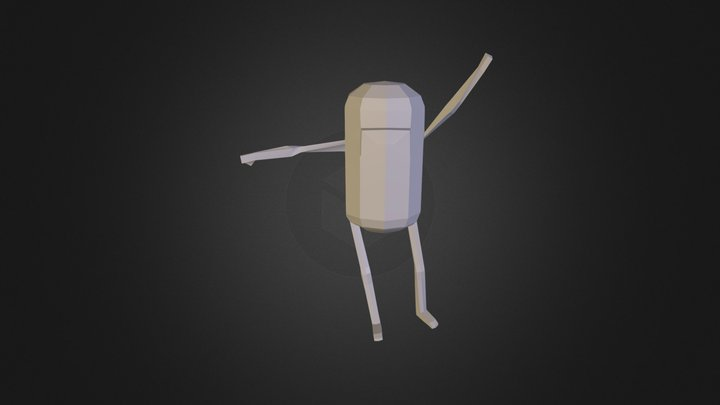 Jake - Pose 3D Model