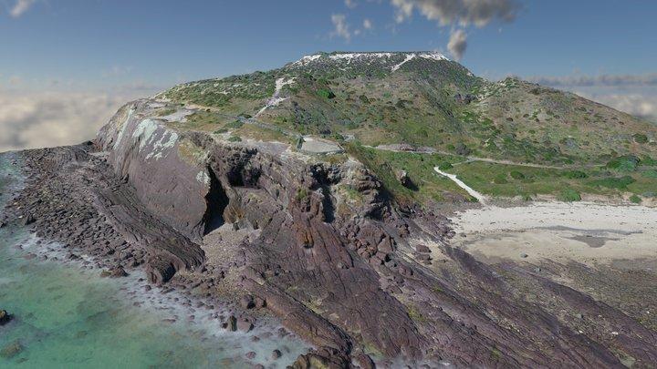 Hallett Cove - Black Cliff shore platform 3D Model
