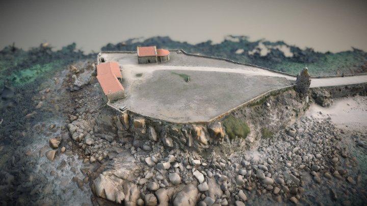 Ermita de Nuestra Señora de A Lanzada 3D Model
