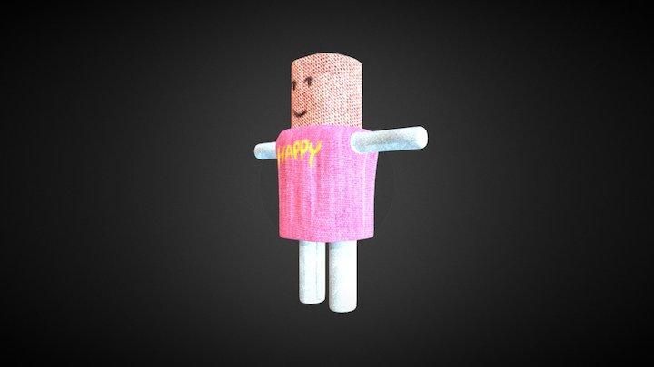 simple doll 3D Model