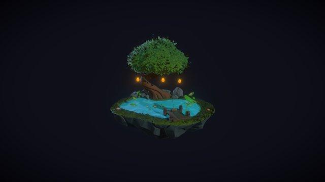 The Pond 3D Model