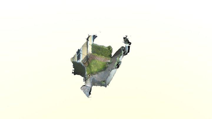 test2 front garden 3D Model