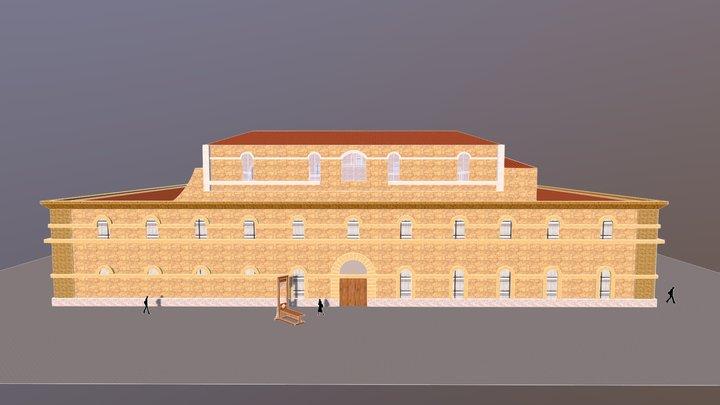 L'ancienne prison Aix-en-Provence 3D Model
