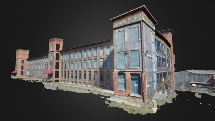 Big Mill 01 rough 3D Model
