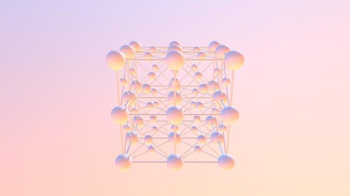 Unit Cell 3D Model