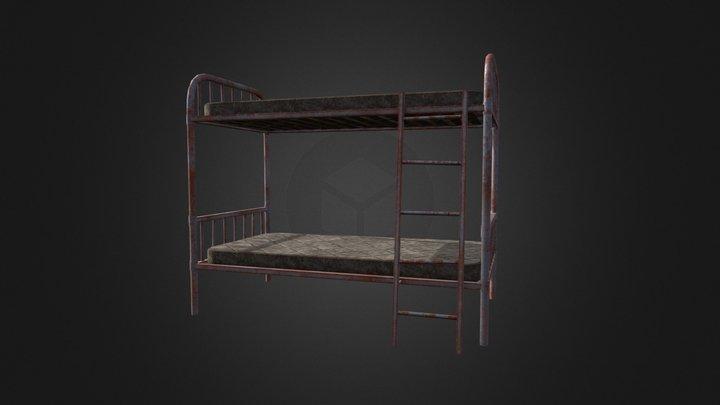 F4NV Bunk Bed 3D Model
