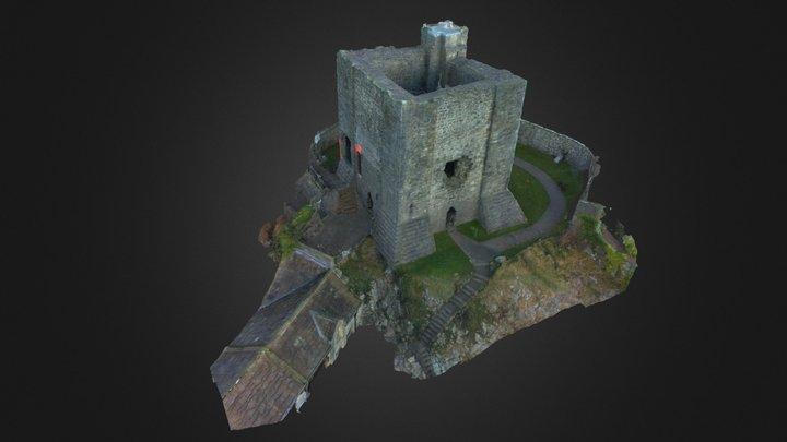 Clitheroe Castle 3D Model