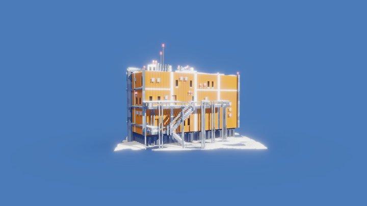 Part of antarctic base 3D Model