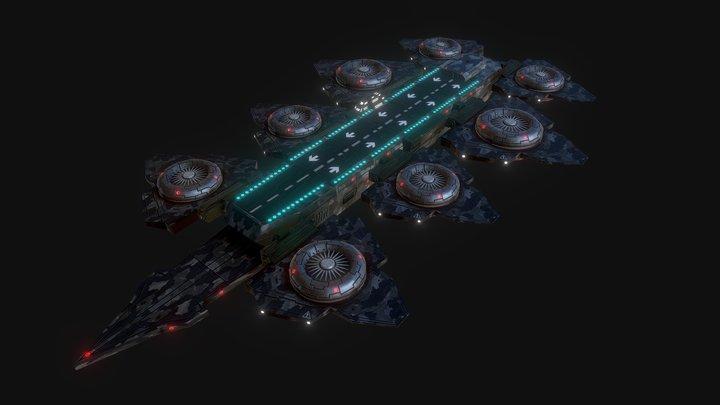 Sky Cruiser 3D Model