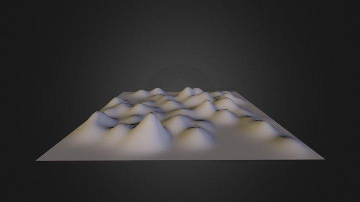 """""""Azaleas"""" as landscape 3D Model"""