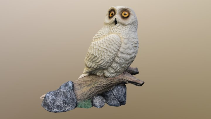 My grandfather's owl 3D Model