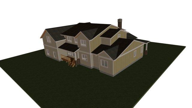 Park View House 3D Model