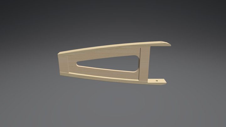 Nose Rib 3D Model