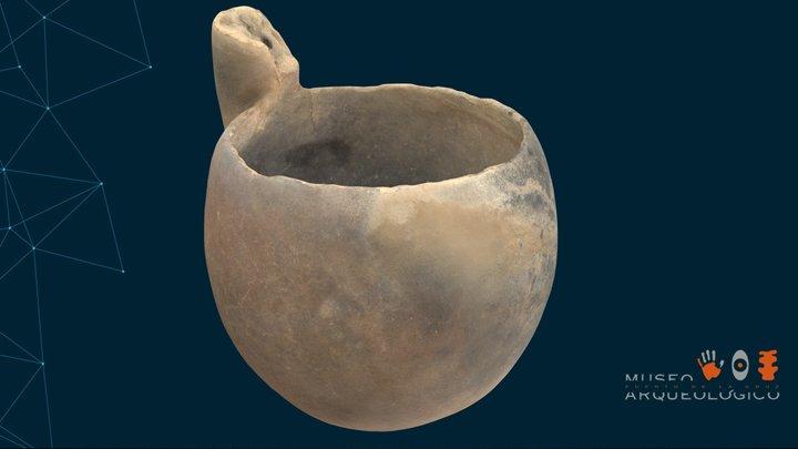 MAPC-009. Gánigo guanche (Las Cañadas del Teide) 3D Model