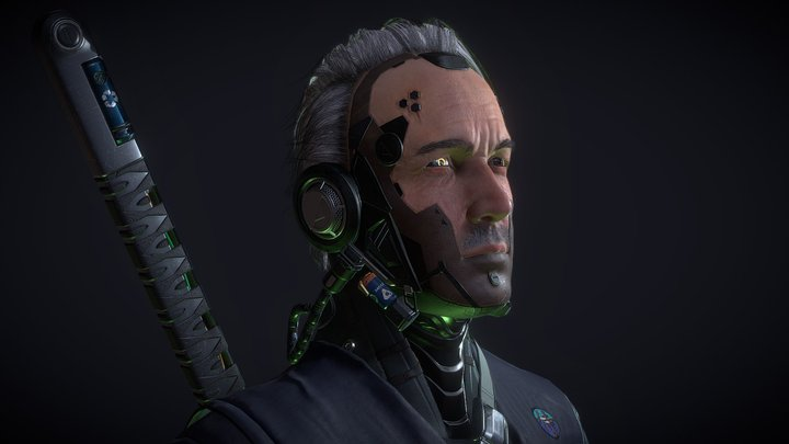 Cyberpunk 3D Model