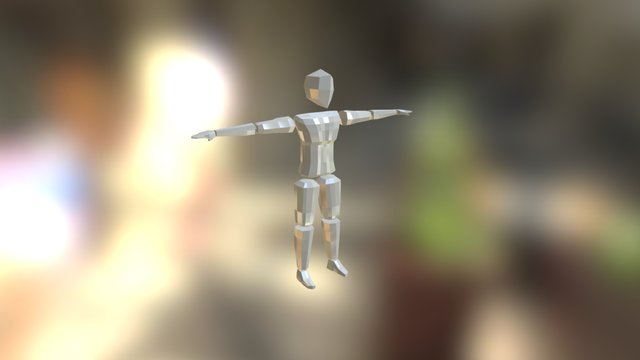 My First Character Rig 3D Model