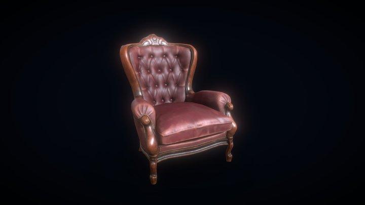 Vintage_chair 3D Model