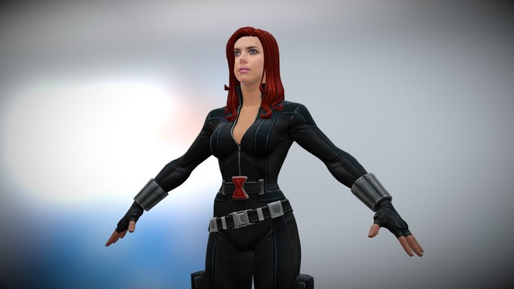 Blackwidow 3D Model