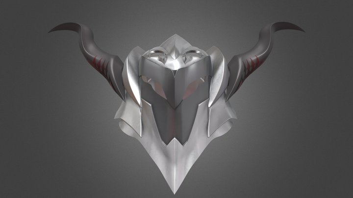 Mordred's Helmet 3D Model