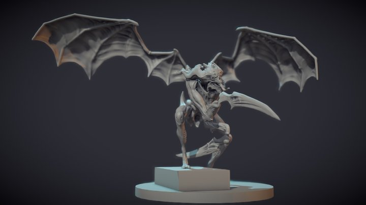 Winged one 3D Model
