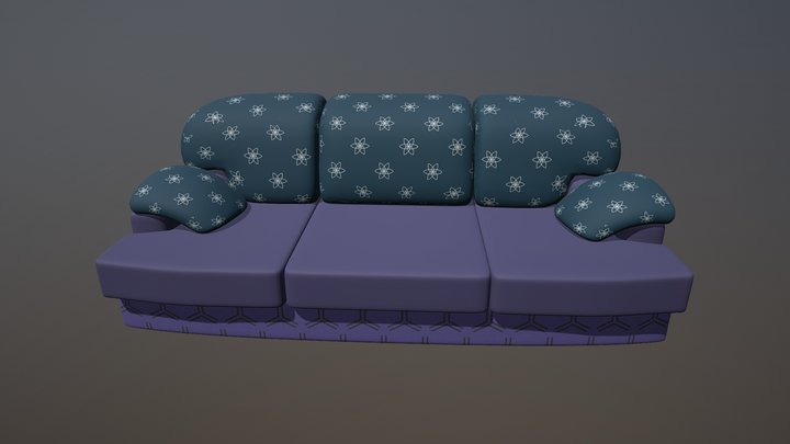 Another Sofa 3D Model