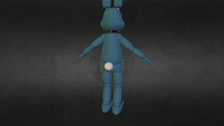 Toy Bonnie 3D Model