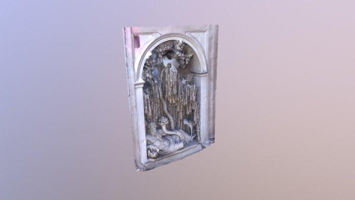 Roma - Quattro fontane - Tevere 3D Model