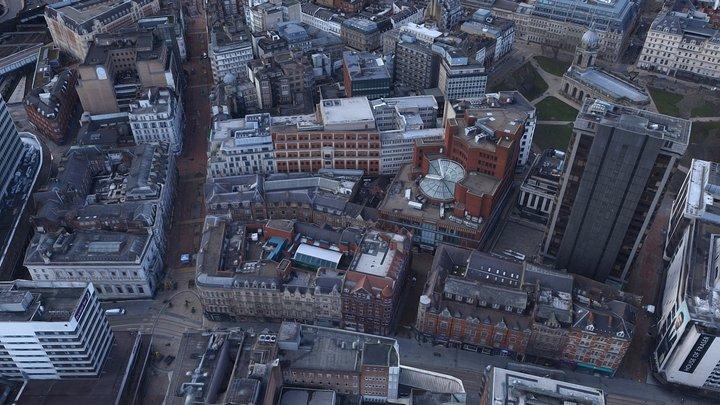 HQ Birmingham 3D City Model 3D Model