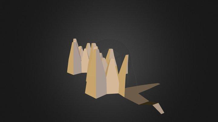 refugios_perdiguera 3D Model