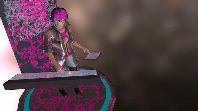 neo-tokyo DJ 3D Model