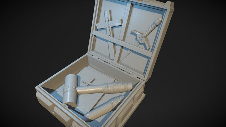 Vampire Hunter Kit 3D Model