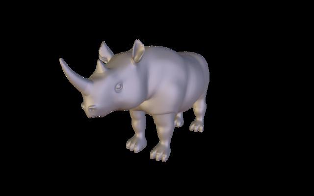 Rhino 3D Model