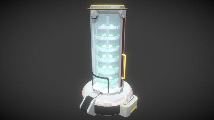 Oxygen Farm 2 3D Model