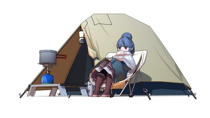Shima Rin (Yuru camp) 3D Model