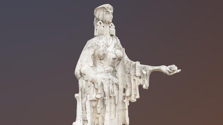 Thracian Woman Statue 3D Model