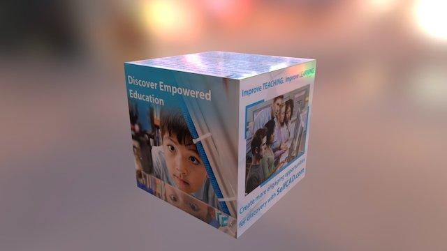 Self CAD ED Cube 3D Model