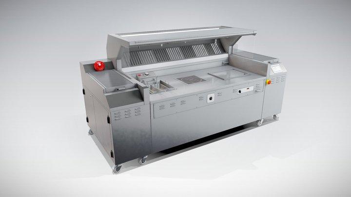 Halton - MobiChef 3D Model