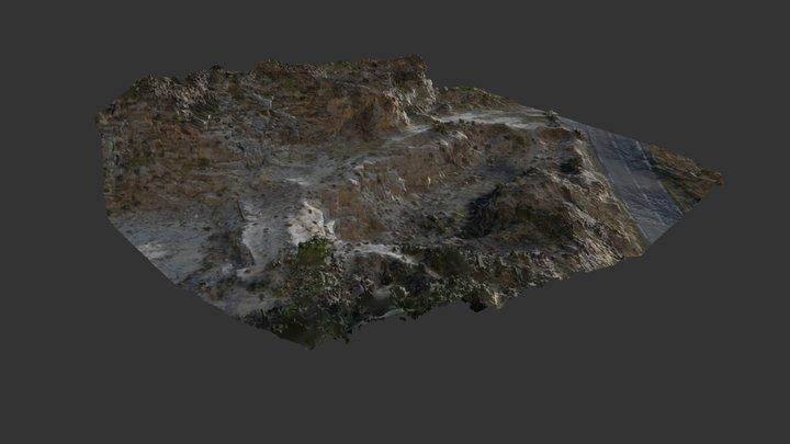Roadside Pit 3D Model