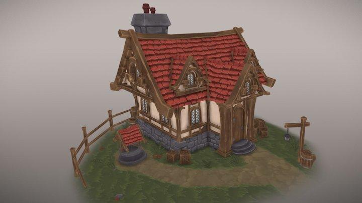 Adventurer's House 3D Model