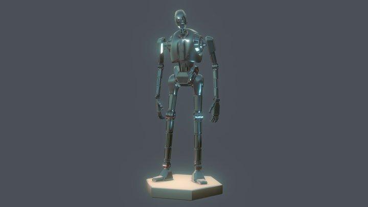K-2SO STAR WARS ROGUE ONE ROBOT 3D Model