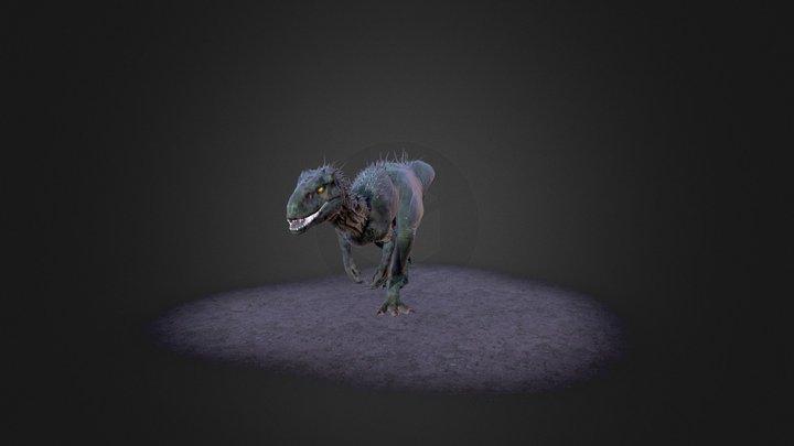 Irex Walk (Animation) 3D Model