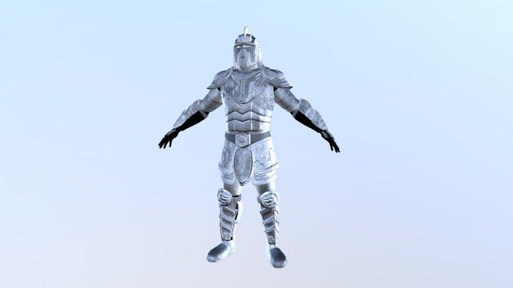 Man Armour 3D Model