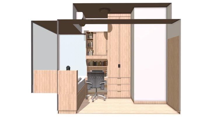 Century Gateway Mid Room 3D Model